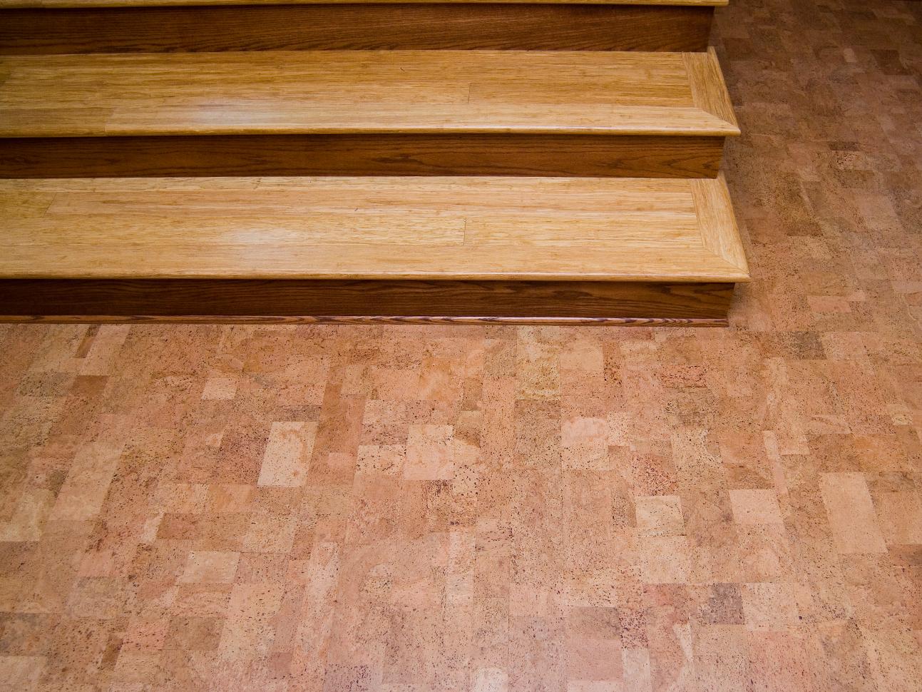 Mache cork eco friendly flooring for Cork linoleum