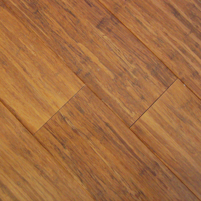 Carbonized fibrestrand woven solid click lock floating for Eco bamboo flooring