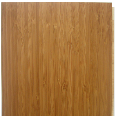 Carbonized vertical engineered click lock floating plank for Eco bamboo flooring
