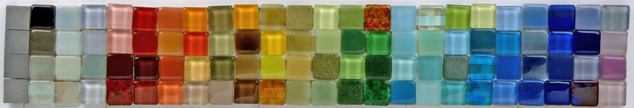 Recycled Glass Palette