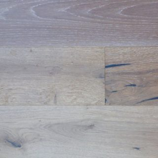 White Oak Raised Grain Weathered Gray Prefinished