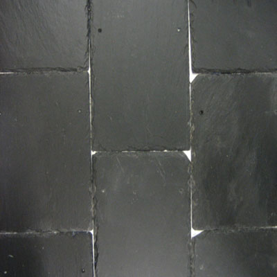 Old School Black Roofing Slate Eco Friendly Flooring