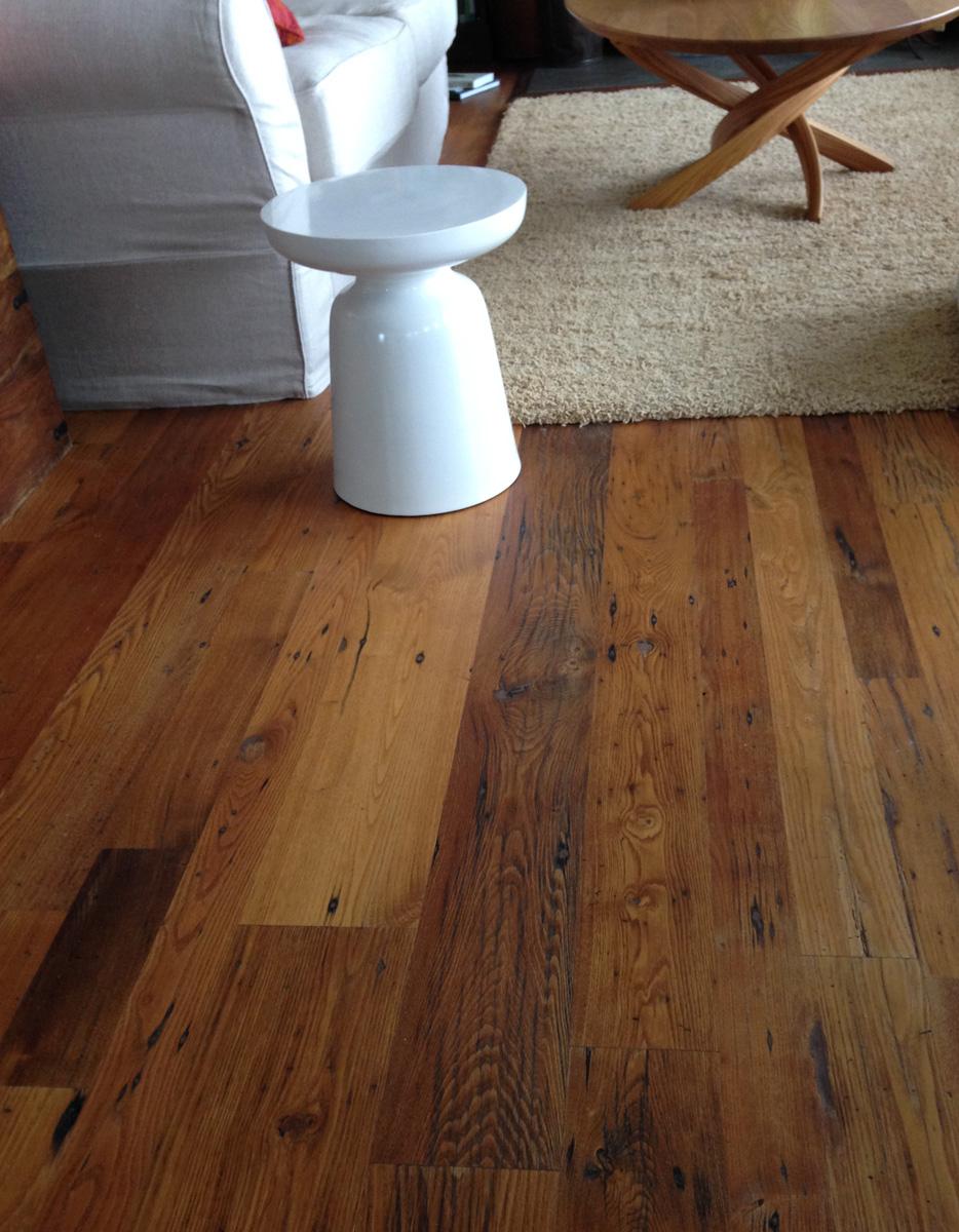 Wormy Chestnut Floor
