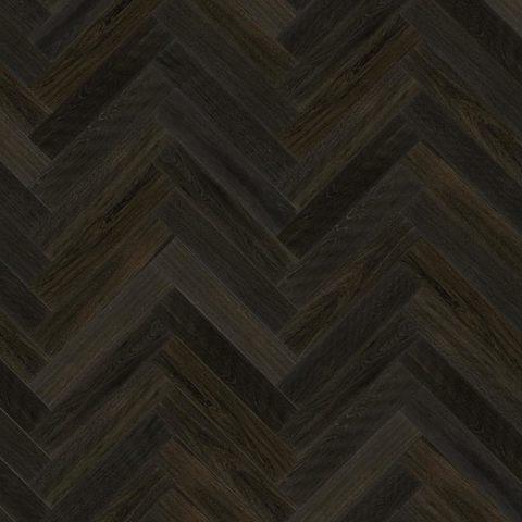 Chateau Francia Black Oiled Oak Herringbone Floor Eco