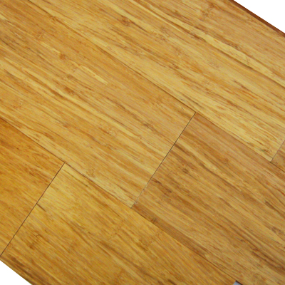 Natural Fibrestrand Woven Solid Click Lock Floating Plank Bamboo