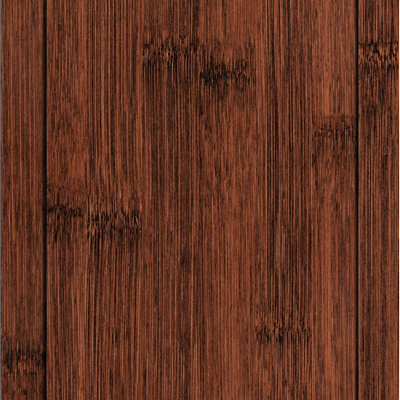 Handscraped Chestnut Colored Wide Plank Bamboo Eco Friendly Flooring