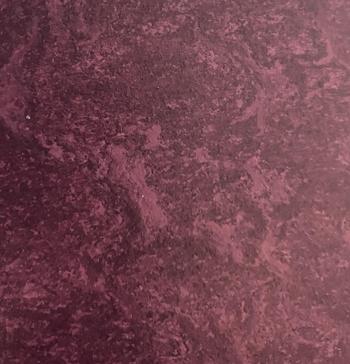 Deep Fuchia color with faint marbling