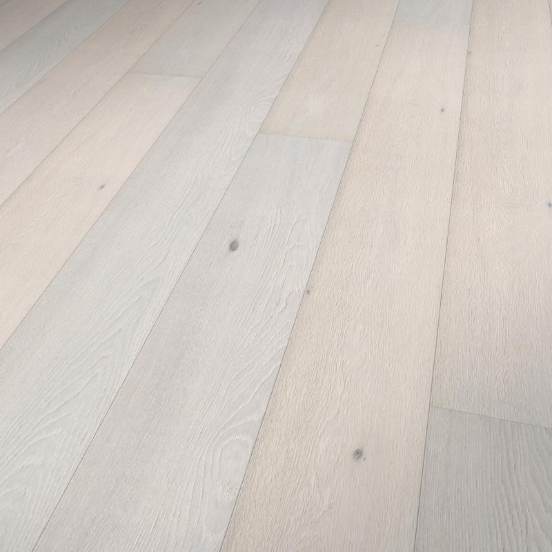 Whitewashed Andorra White Oak Raised