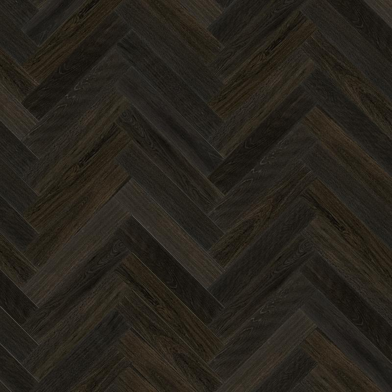 Chateau Francia Black Oiled Oak Herringbone Floor Eco