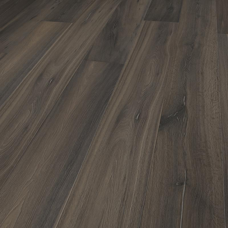 Gray Wash Extra Wide Plank White