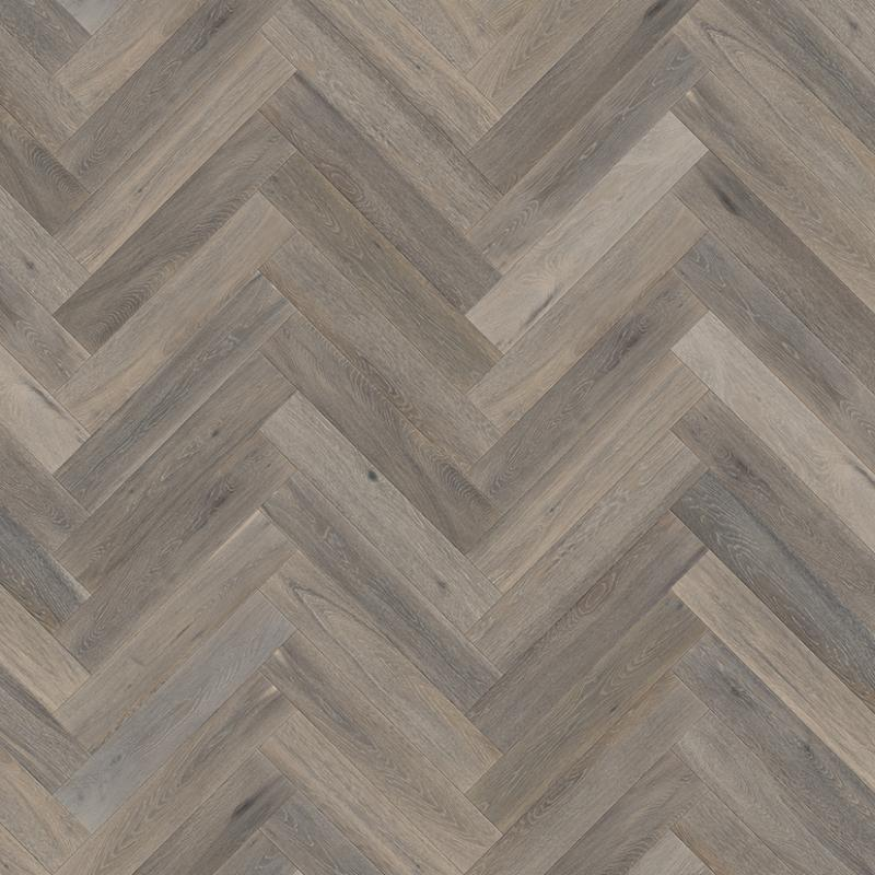Chateau Gris Classic Oiled Oak Herringbone Floor Eco