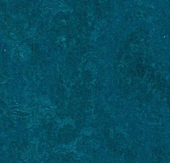 Deep Teal Blue with very faint marbling