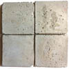 Recycled Cement Tile Antique White with Textured Finish