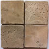Recycled Cement Tile, Cream City Capuccino textured