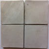 Recycled Cement Tile Antique White Color Smooth Finish