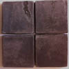 Recycled Cement Tile, Swiss Chocolate Brown textured finish